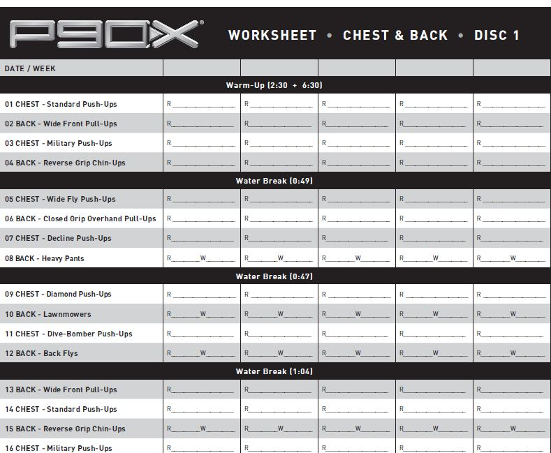 p90x-worksheets